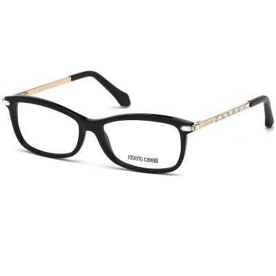 Rama ochelari de vedere, Roberto Cavalli GIENAH RC0870 001 Roberto Cavalli Rame de vedere Dama