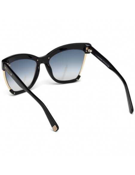 Ochelari de soare, de dama, Dsquared2 AMBER DQ0241 01B Negru Dsquared2 Ochelari de soare Dama