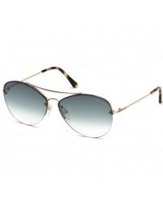 Ochelari de soare, de dama, Tom Ford FT0566 28W 60 Auriu Tom Ford Ochelari de soare Dama