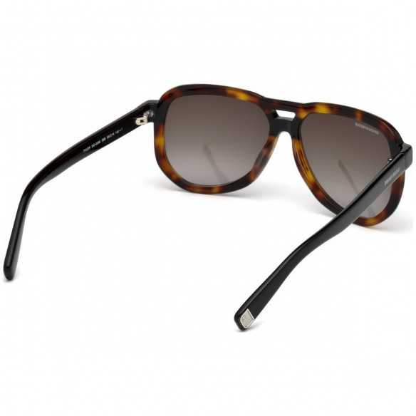 Ochelari de soare, barbatesti, DSQUARED2 TYLER DQ0286 56B Havana Dsquared2 Ochelari de soare Barbatesti