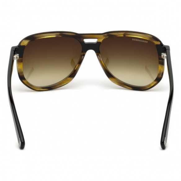 Ochelari de soare, barbatesti, DSQUARED2 TYLER DQ0286 96P Havana/ Dsquared2 Ochelari de soare Barbatesti