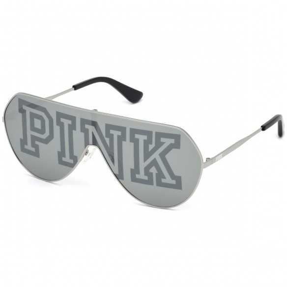 Ochelari de soare, de dama, Victoria's Secret Pink PK0001 16C Argintiu Victoria Secret Ochelari de soare