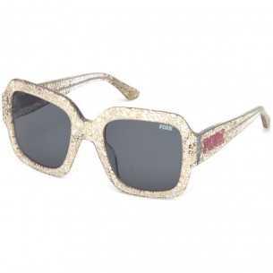 Ochelari de soare, de dama, Victoria's Secret Pink PK0010 57A 54 Auriu Victoria Secret Ochelari de soare