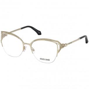 Rame ochelari de vedere, de dama, Roberto Cavalli RC5054 032 53 Auriu Roberto Cavalli Rame de vedere Dama