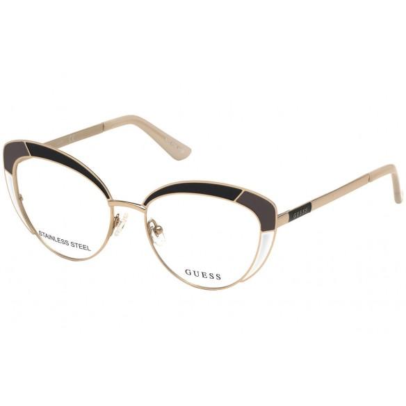 Rama ochelari de vedere, de dama, GU2693 005 52 Guess Rame de vedere Dama