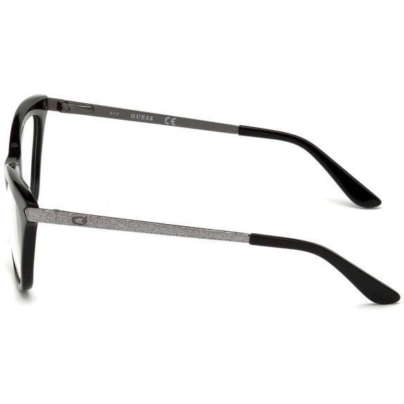 Rame ochelari de vedere, de dama, Guess GU2655 005 53 Negru Guess Rame de vedere Dama