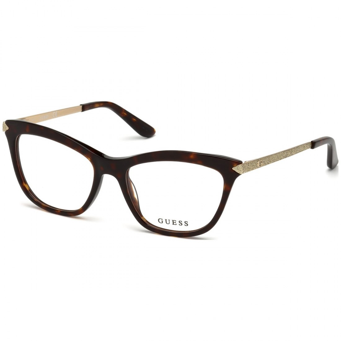 Rame ochelari de vedere, de dama, Guess GU2655 052 53 - Havana Guess Rame de vedere Dama