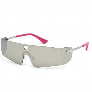 Ochelari de soare, de dama, Victoria's Secret Pink PK0008 16C 00 Argintiu