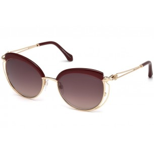 Ochelari de soare, de dama, Roberto Cavalli RC1032 69G 56 Auriu