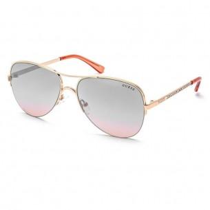 Ochelari de soare, de dama, Guess GF6079 28U 58