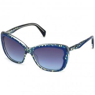 Just Cavalli JC719S 92W Blue - Ochelari de soare Just Cavalli Ochelari de soare Dama