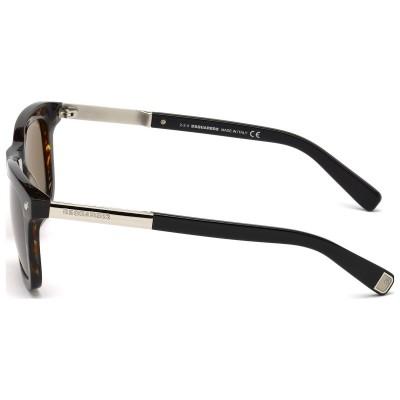 Ochelari de soare barbatesti DSQUARED2 RONNY DQ0178 50E HAVANA Dsquared2 Ochelari de soare Barbatesti
