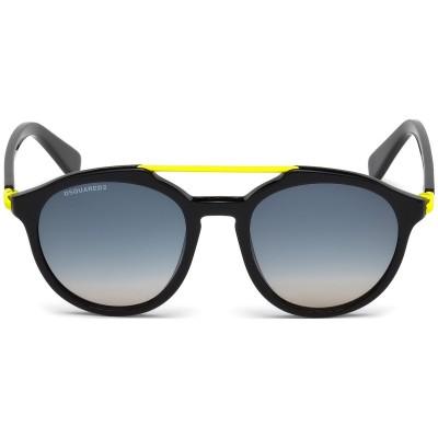 Ochelari de soare Unisex - Dsquared2 DQ0244 DAMON 01B Dsquared2 Ochelari de soare Barbatesti