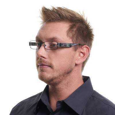 Rame ochelari de vedere Guess GU1585 B84 51 Guess Rame de vedere Barbati