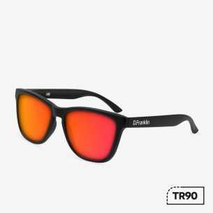 Ochelari de soare UNISEX - D.FRANKLIN ROOSEVELT TR90 Red D.Franklin Ochelari de soare Dama