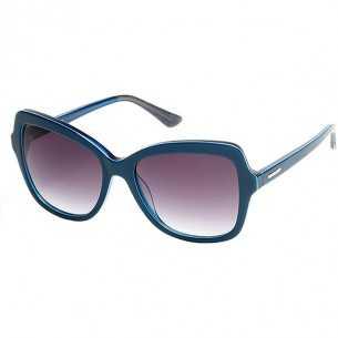 Ochelari de soare, de dama - Guess - GU7428 - Albastru Guess Ochelari de soare Dama