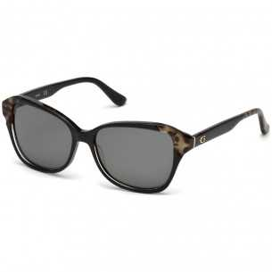 Ochelari de soare, de dama - Guess - GU7510 05D - lentila polarizata Guess Ochelari de soare Dama