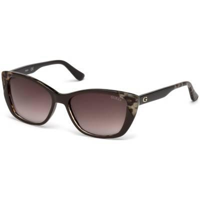 Ochelari de soare, de dama - Guess - GU7511 48F - Maro Guess Ochelari de soare Dama