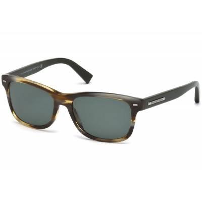 Ochelari de soare polarizati - Ermenegildo Zegna - EZ0001 - Havana Ermenegildo Zegna Ochelari de soare Barbatesti